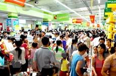 Nóng bỏng không khí mua sắm Tết tại siêu thị